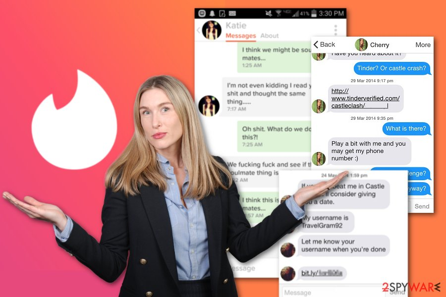 Examples of Tinder scams