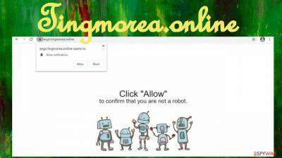 Tingmorea.online notifications