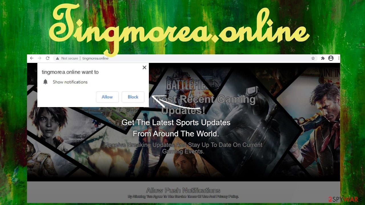 Tingmorea.online virus