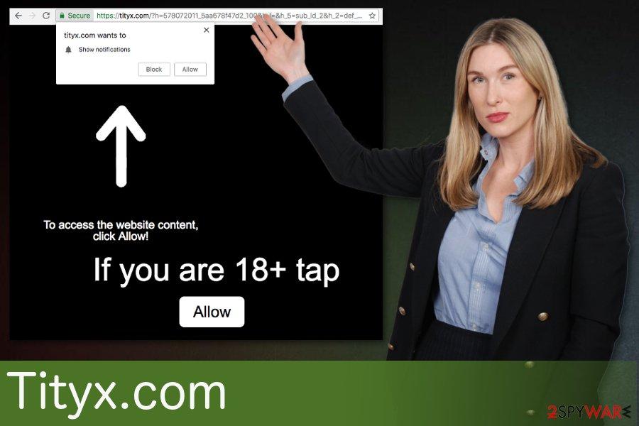 Tityx.comvirus