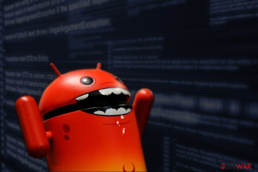Image of Tizi Android virus