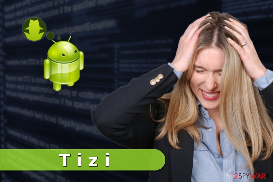 Picture of Tizi malware