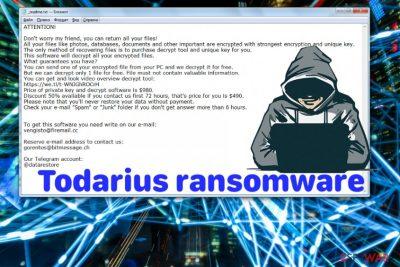 Todarius ransomware