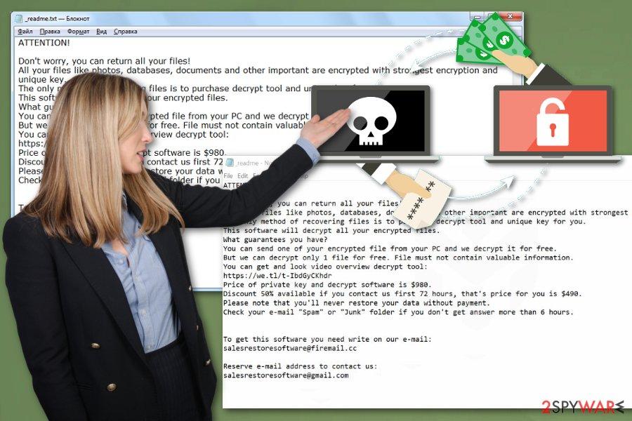 Toec ransomware virus