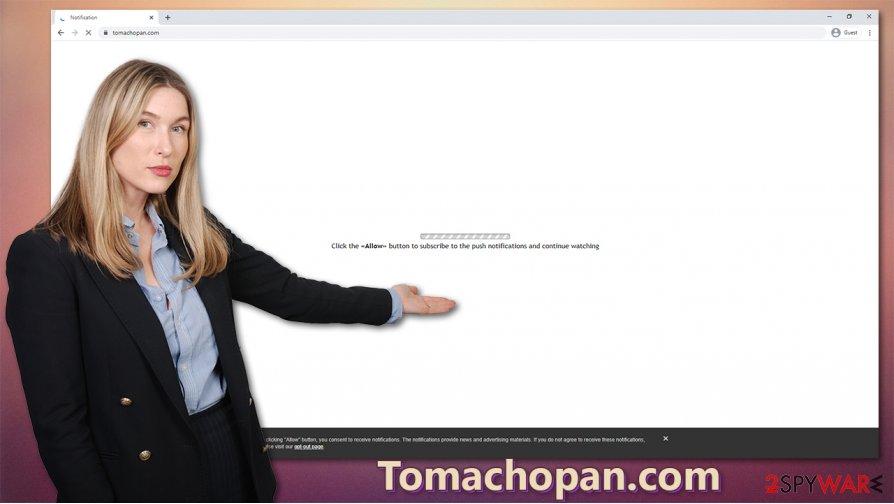 Tomachopan.com virus