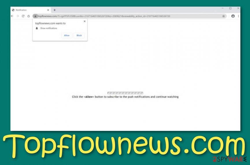 Topflownews.com adware