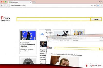 Top5news.org virus
