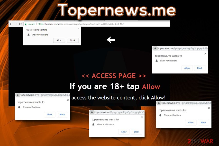 Topernews.me push notifications