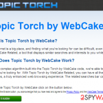 Topic Torch ads