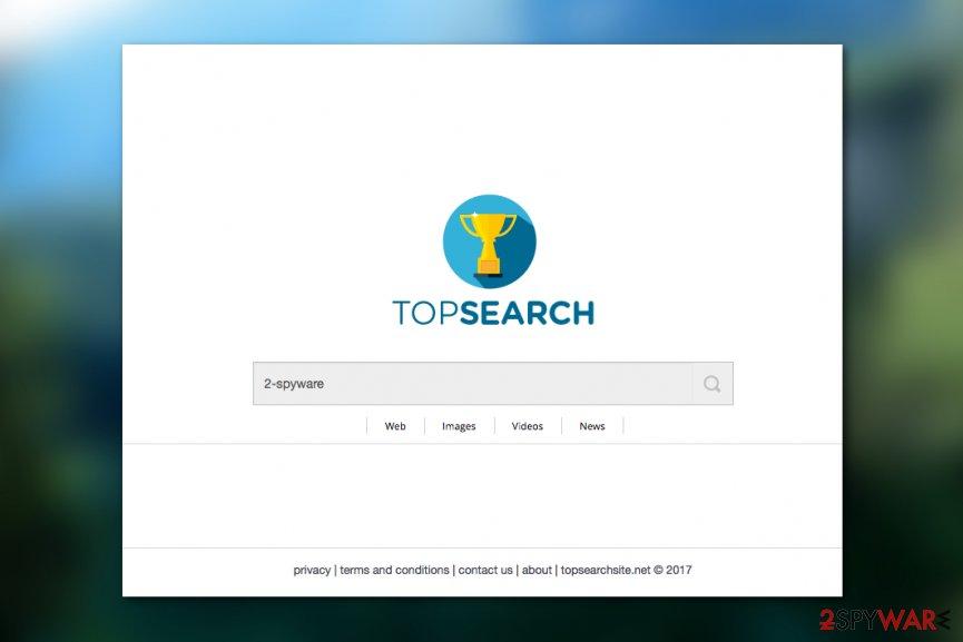 Topsearchsite.net virus