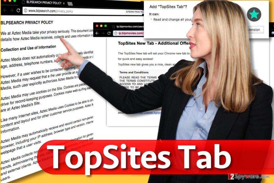 TopSites Tab hijack