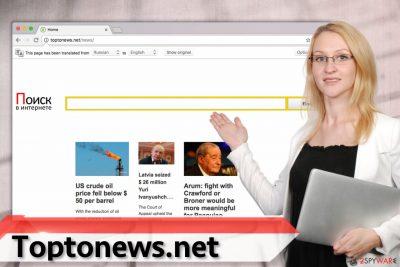Toptonews.net virus