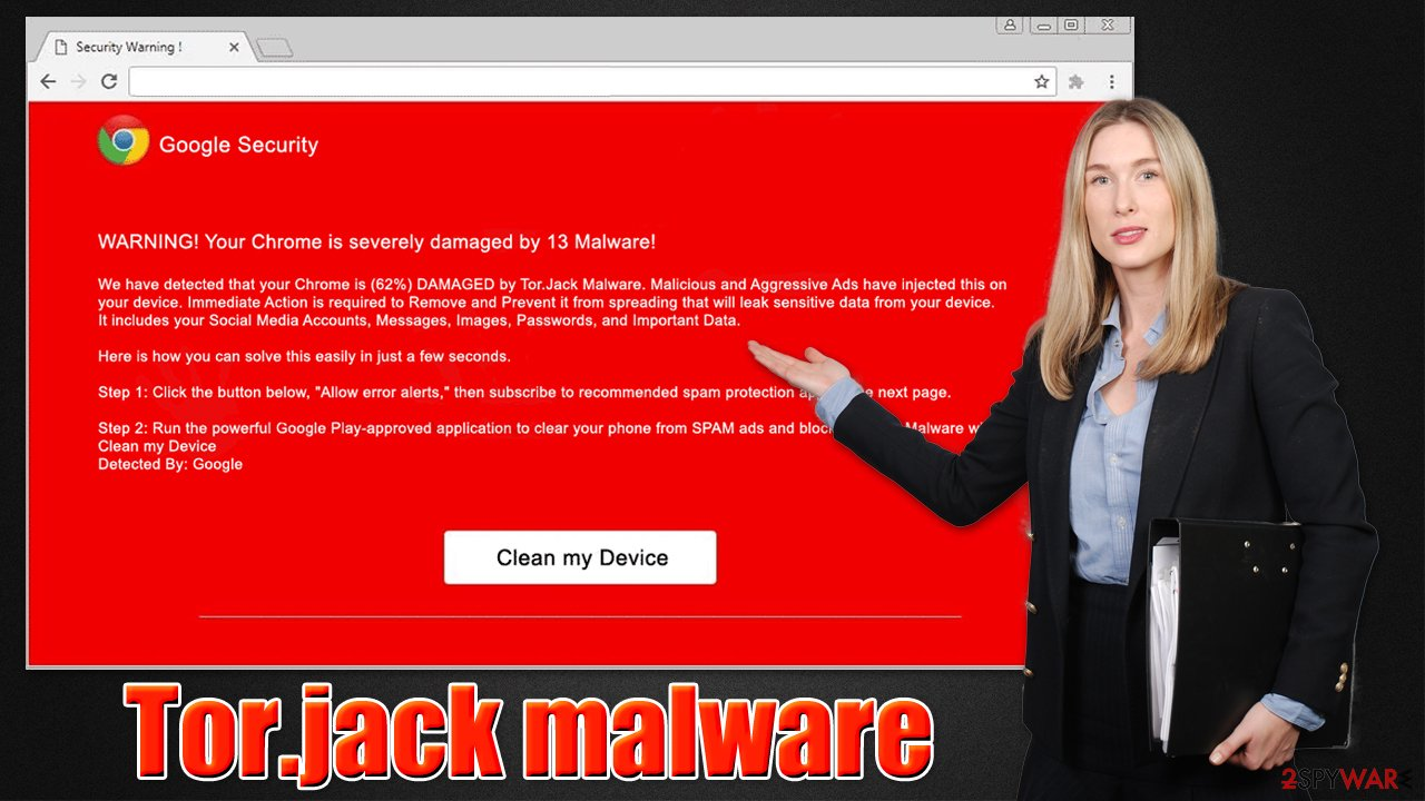 Tor.jack malware virus
