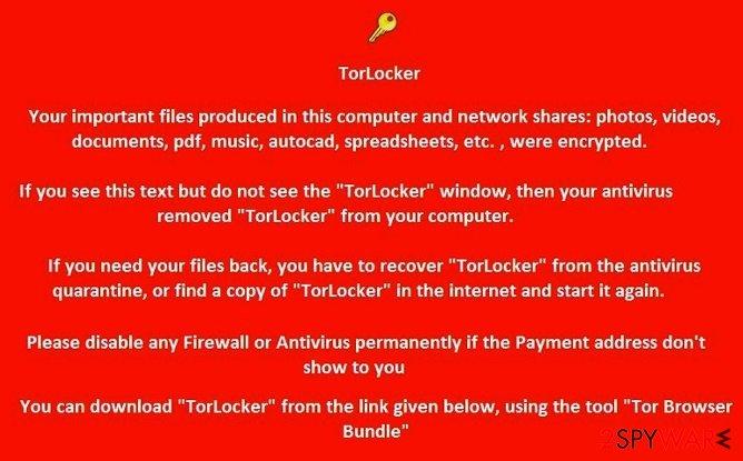 TorLocker
