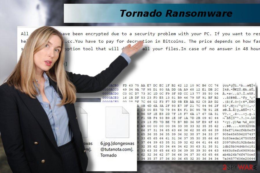 Tornado ransomware removal tutorial
