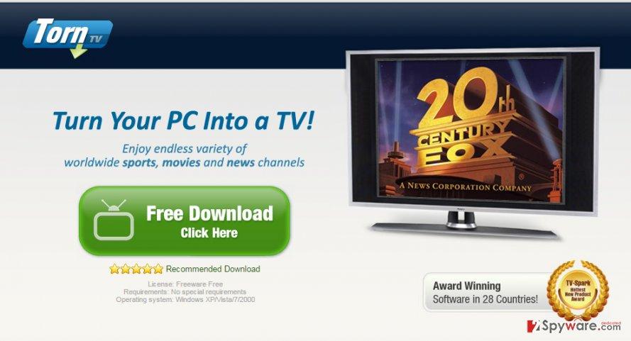 TornPlusTV Ads snapshot