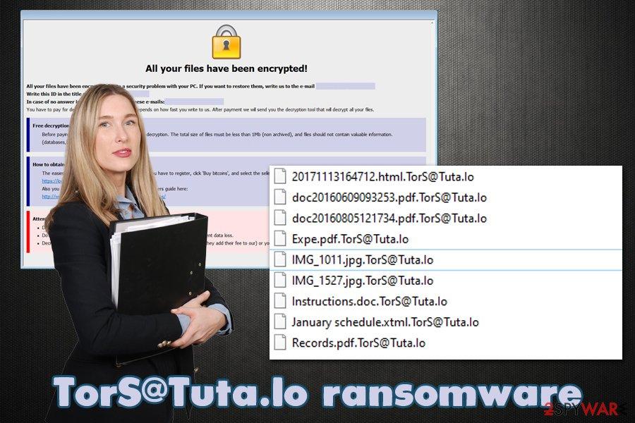 TorS@Tuta.Io ransomware virus