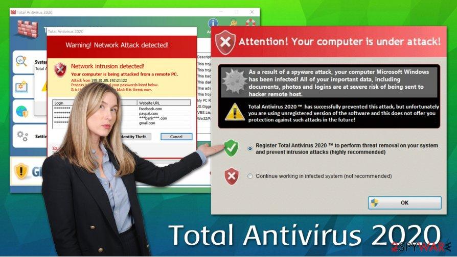 Total Antivirus 2020 rogue