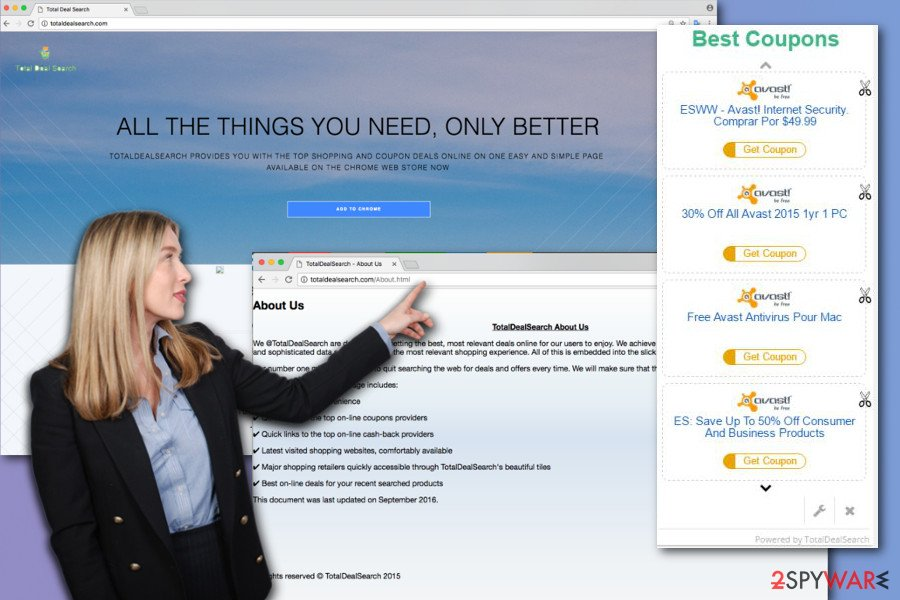 The image of Total Deal Search ads
