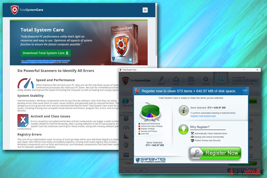 Total System Care adware