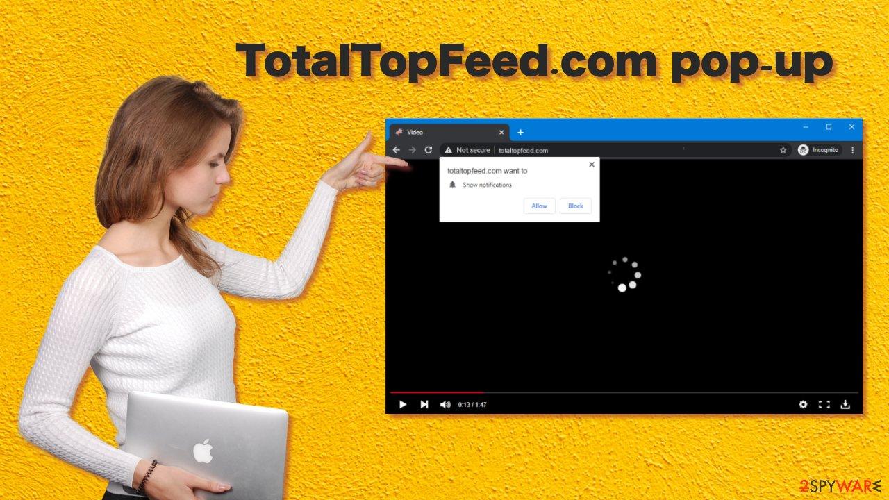 TotalTopFeed pop up