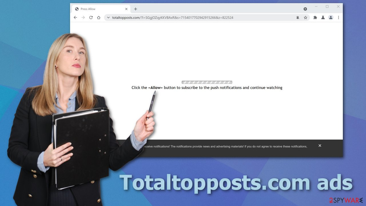 Totaltopposts.com ads