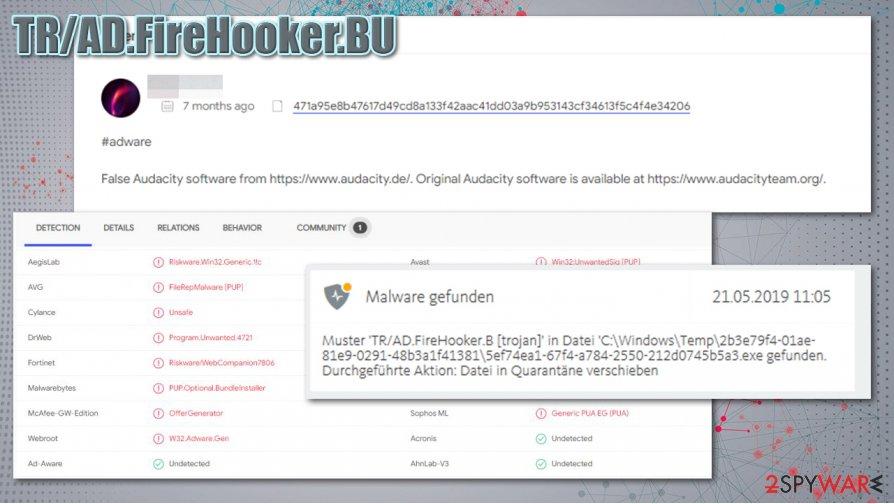 TR/AD.FireHooker.BU distribution