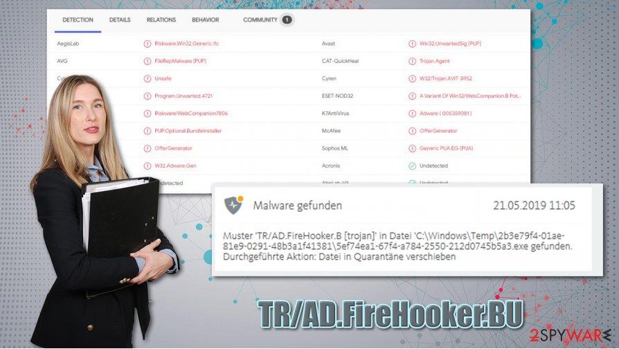 TR/AD.FireHooker.BU virus