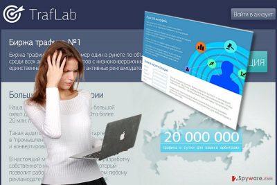The screenshot of Thirafsleb-ta.ru
