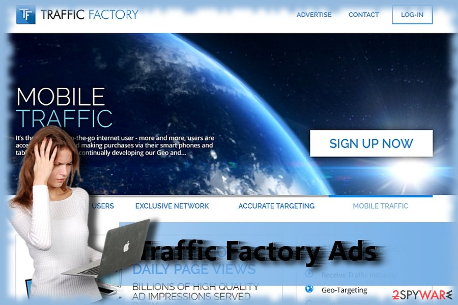 Traffic Factory website