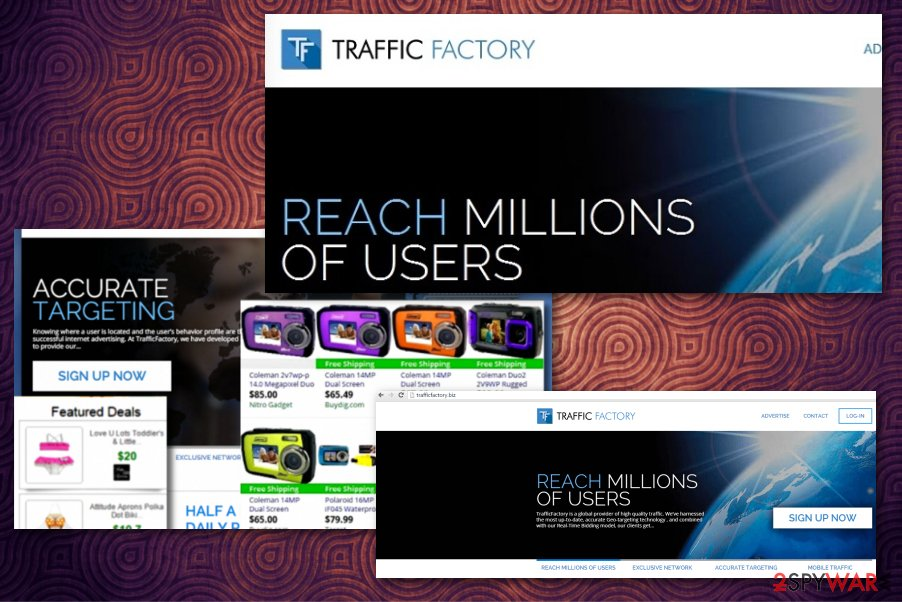 Traffic Factory ads