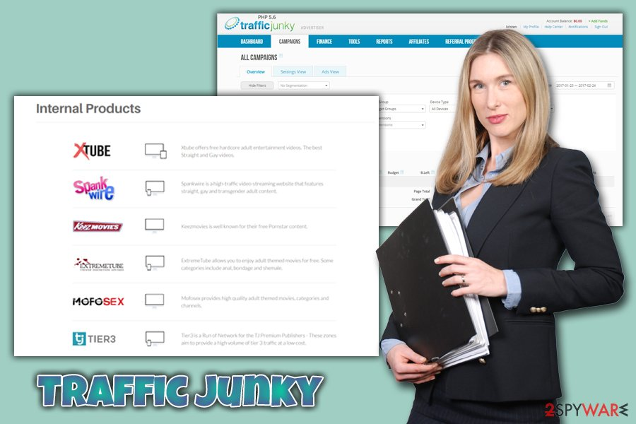Traffic Junky adware