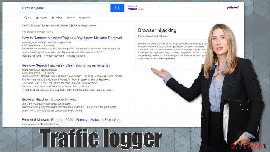 Traffic logger virus