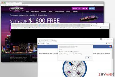 Image of Trafficnado.com adware