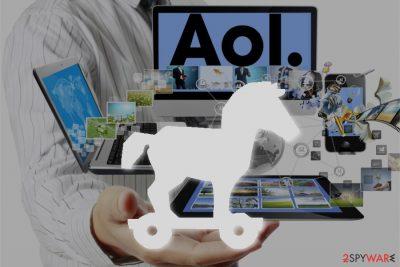 Trojan.AOL.WAOL virus image
