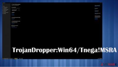 TrojanDropper:Win64/Tnega!MSR