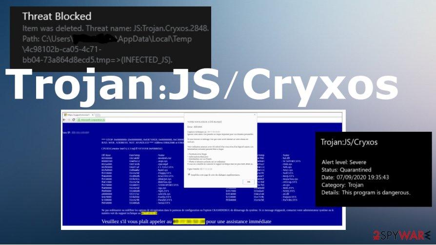 Trojan:JS/Cryxos