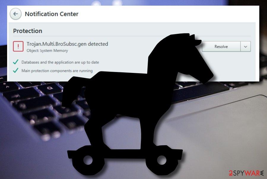 Trojan.Multi.Brosubsc.gen malware