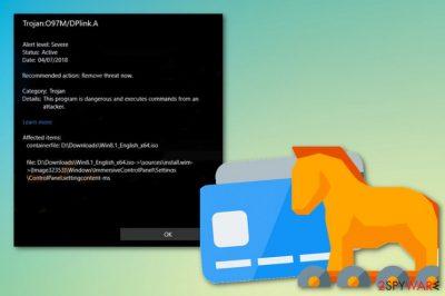 Trojan:O97M/DPLink.A