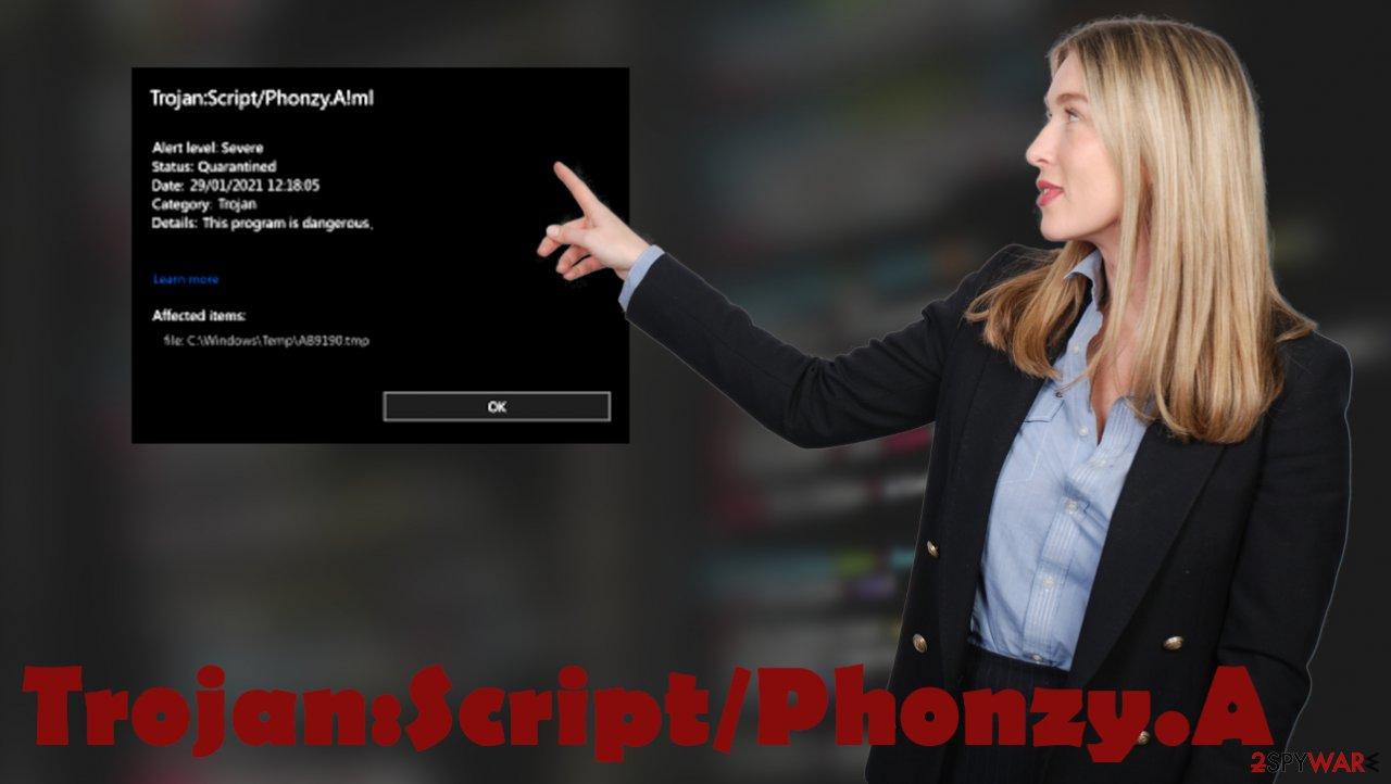Trojan:Script/Phonzy.A virus