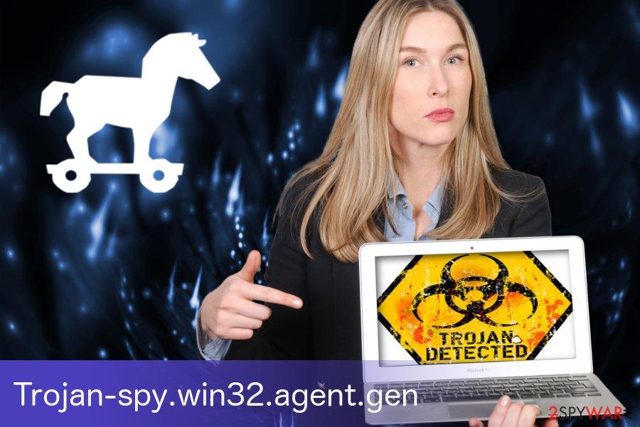 Trojan-spy.win32.agent.gen trojan horse