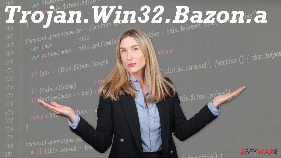 Trojan.Win32.Bazon.a virus