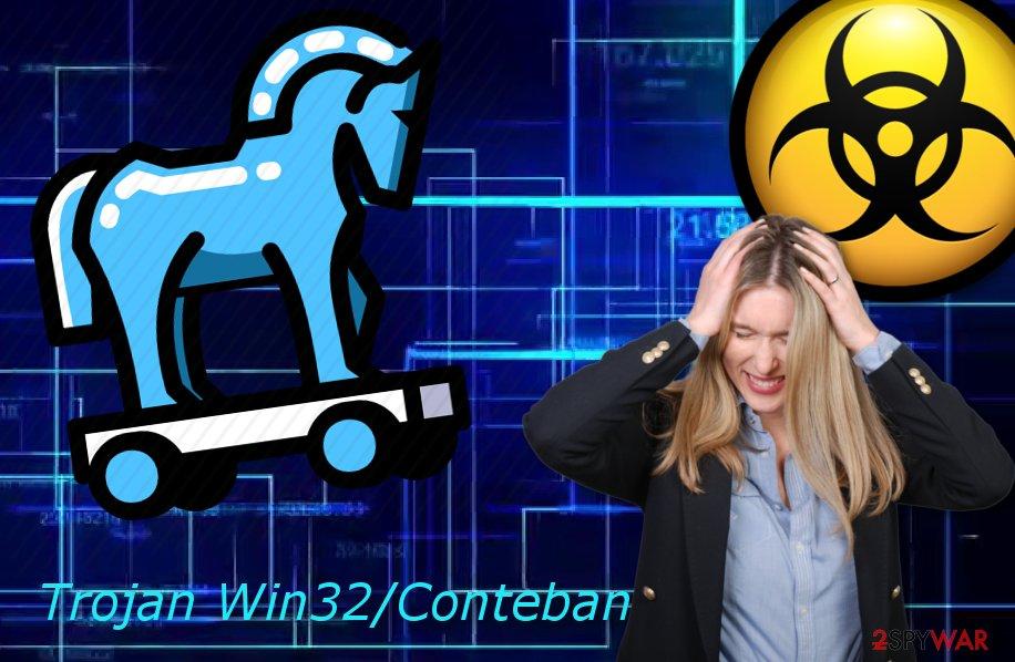 Trojan Win32/Conteban.B!ml