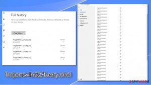 Trojan:win32/fuery.b!cl