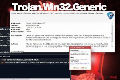 Trojan.Win32.Generic detection