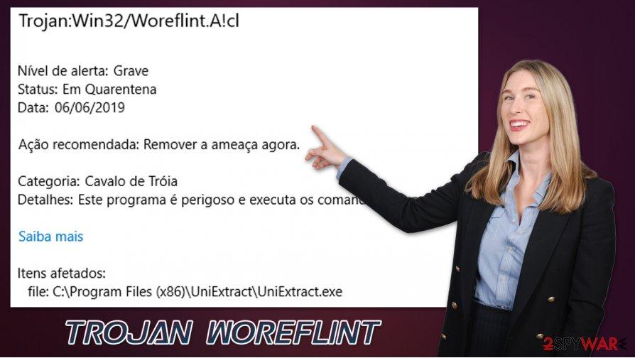 Trojan Woreflint malware