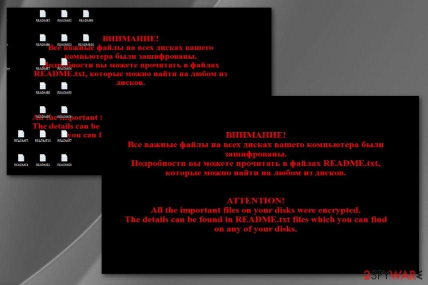Troldesh ransomware virus