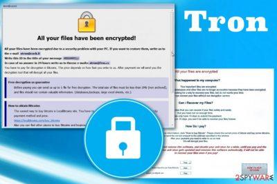 Tron ransomware