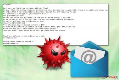 Tronas ransomware