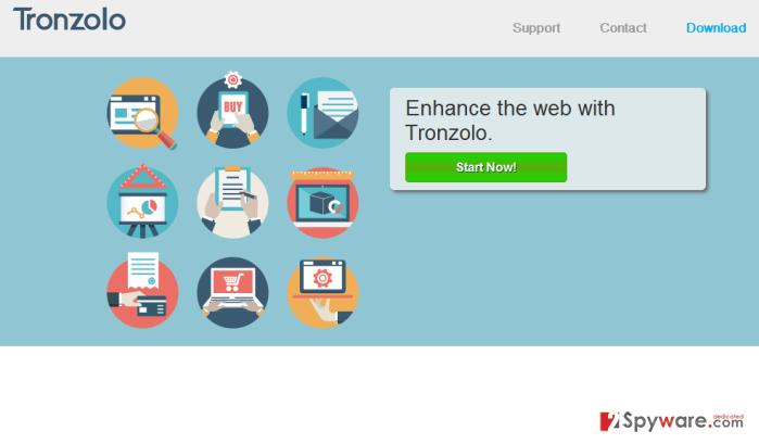 Tronzolo Deals and Tronzolo Ads snapshot